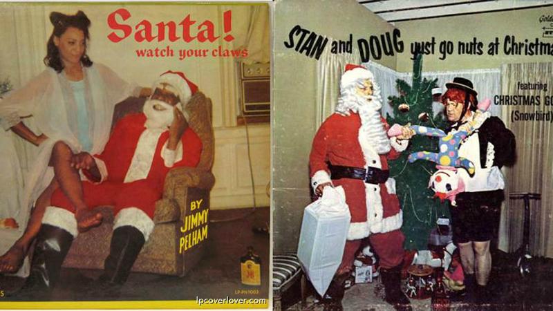 Hilariante: serão estas as piores capas de álbuns de Natal?