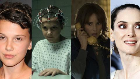 """Anos 80 vs 2016: Os atores de """"Stranger Things"""", a nova série sensação da Netflix"""