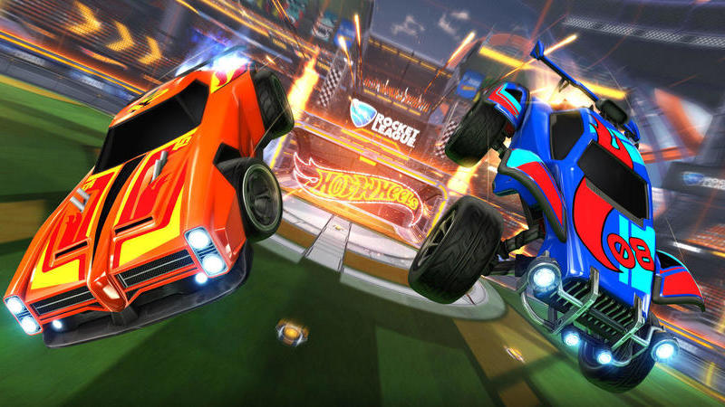 Rocket League ganha vida graças à Hot Wheels