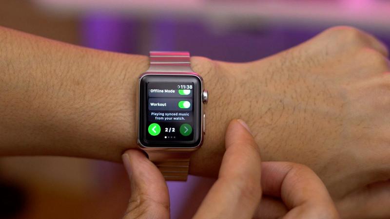 Spotify chega oficialmente ao Apple Watch