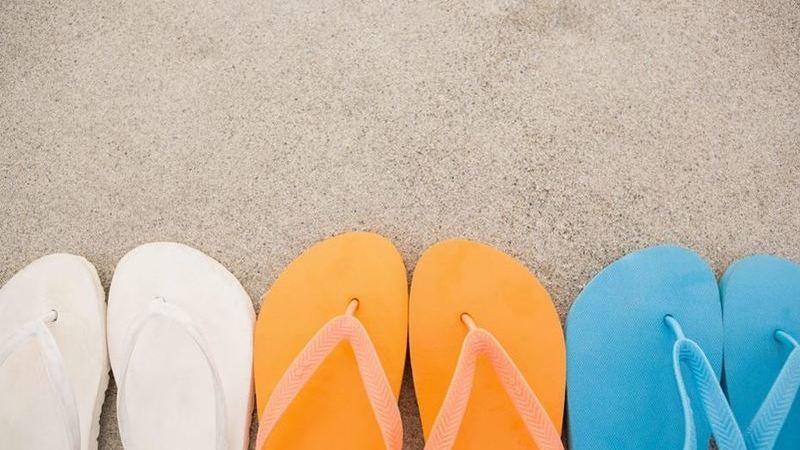 Saiba escolher chinelos corretamente