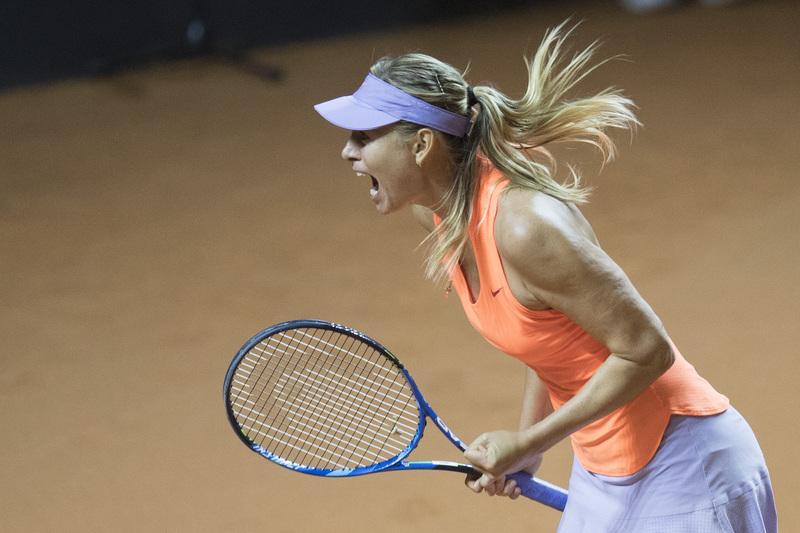 E 15 meses depois, Sharapova regressou aos courts e com uma vitória