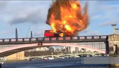 Explosão para filme de Jackie Chan provoca susto em Londres
