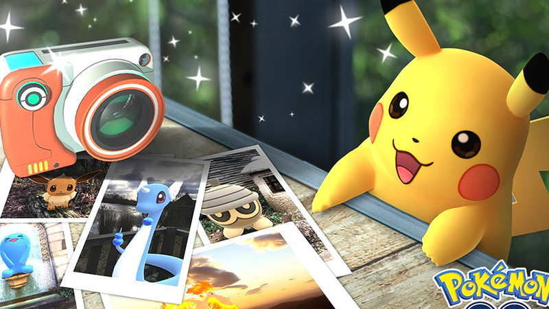 Brevemente poderá tirar selfies com o seu Pokémon favorito