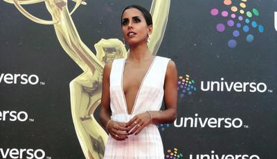 Carolina Patrocínio leva um jumpsuit para a passadeira vermelha (e não podia estar mais na moda)