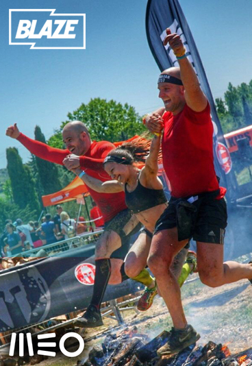 O MEO e o canal Blaze levam-no a Barcelona para participar na Spartan Race.