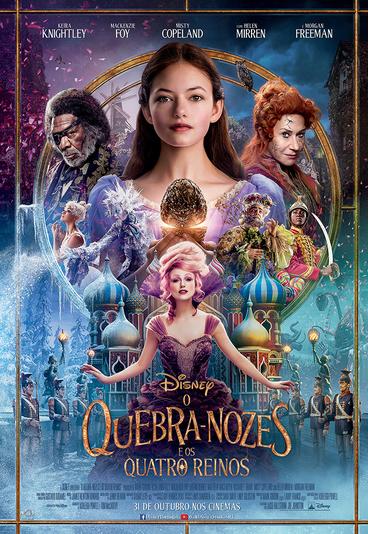 """""""O Quebra-Nozes e os Quatro Reinos"""": ganhe merchandising do filme"""