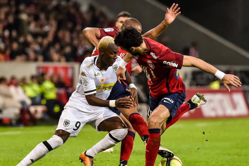 Lille com Éder no onze empata com Angers e pode comprometer lugar europeu