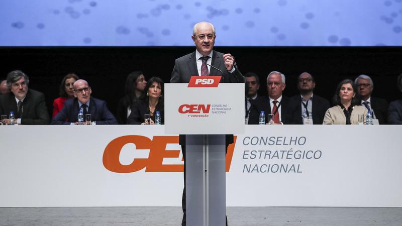 """PSD/Convenção: Rio admite revisão constitucional para """"grande reforma"""" da justiça"""
