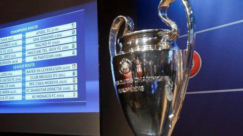 Liga dos Campeões: Os possíveis adversários de Benfica, FC Porto e Sporting