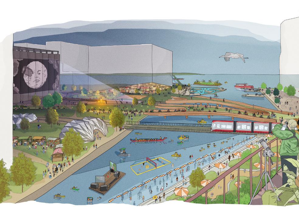 A mini-cidade inteligente que a dona da Google prevê construir em Toronto