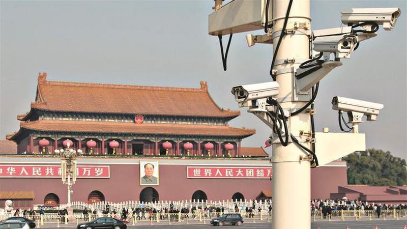 China terá uma câmara de vigilância por cada duas pessoas em 2022