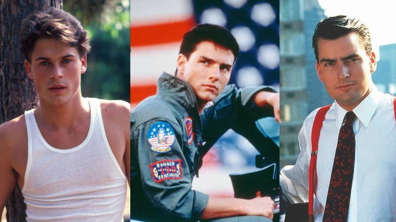 "De Tom Cruise a Rob Lowe: o que é feito dos ídolos ""teen"" dos anos 80?"
