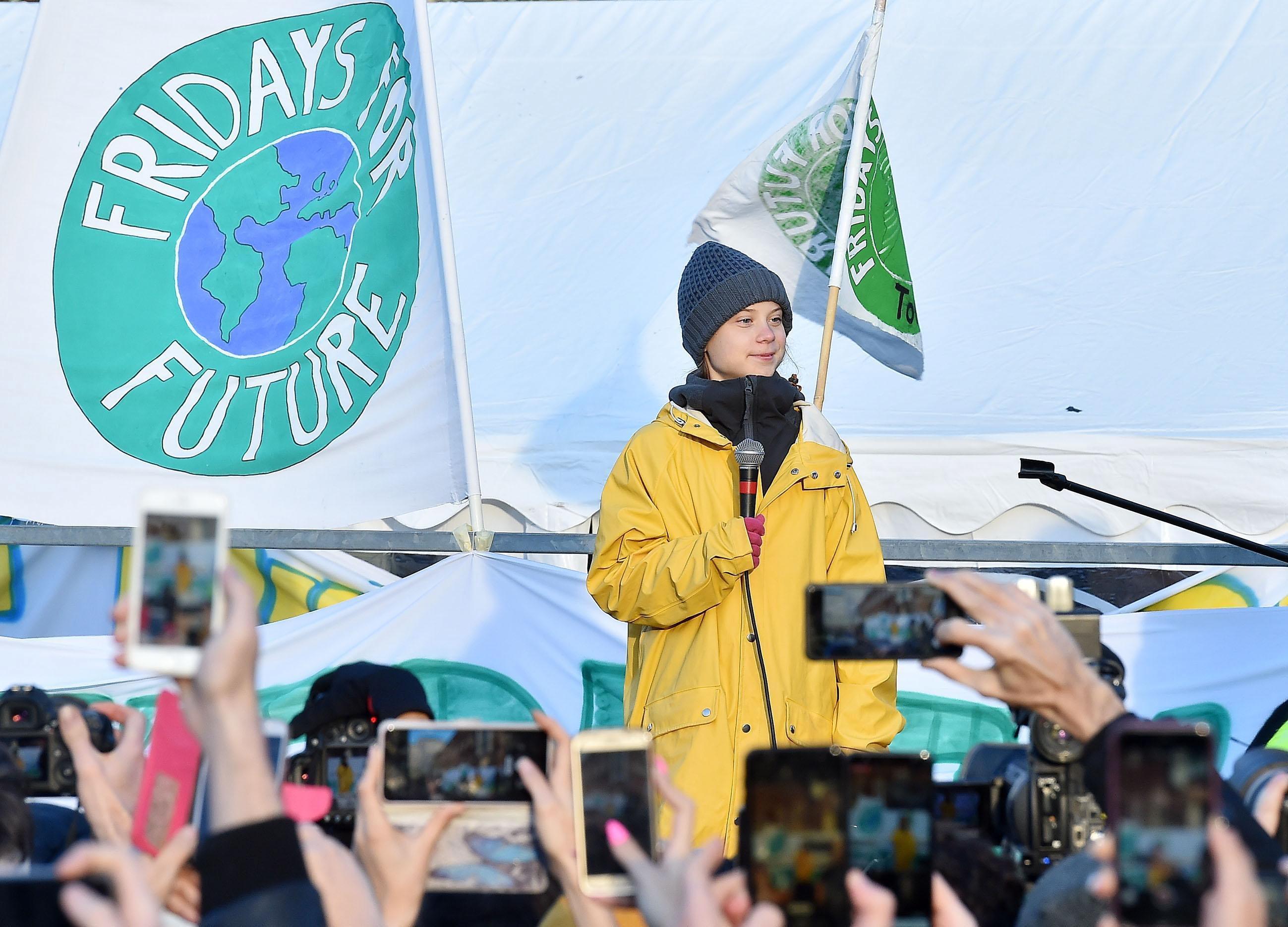 Ativista Greta Thunberg diz que 2020 marcará início de década de combate