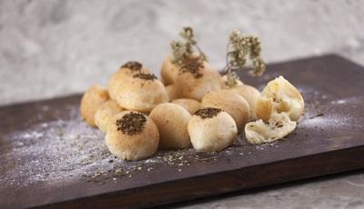 Pãezinhos de queijo com especiarias