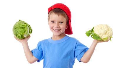 Vegetarianos desde pequenos