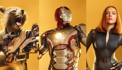Marvel lança cartazes especiais: 10 anos de filmes, 32 personagens inesquecíveis