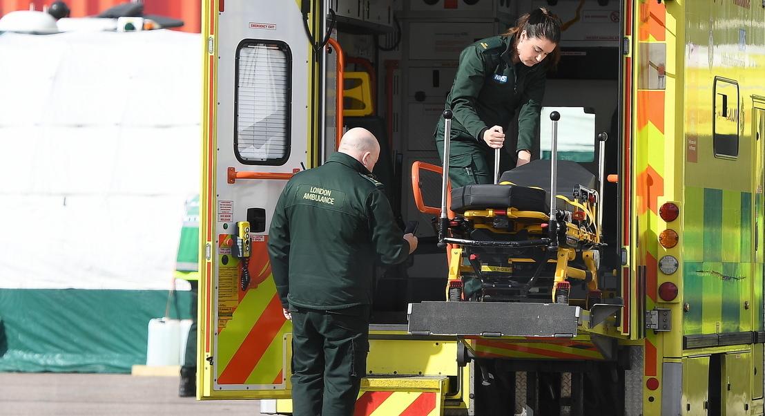 COVID-19: Reino Unido regista 786 mortos em 24 horas. Total de óbitos sobe para 6.159