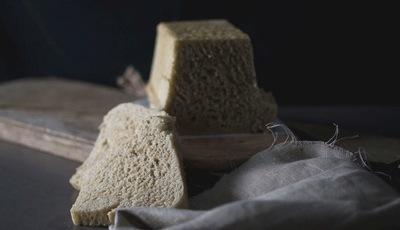Pão semi integral sem côdea