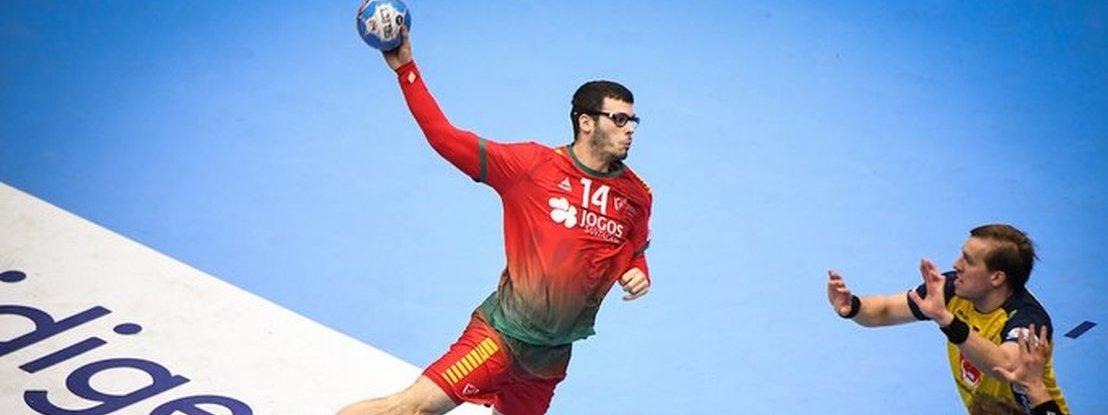 Portugal arranca segunda fase do Euro de Andebol com grande vitória sobre a Suécia