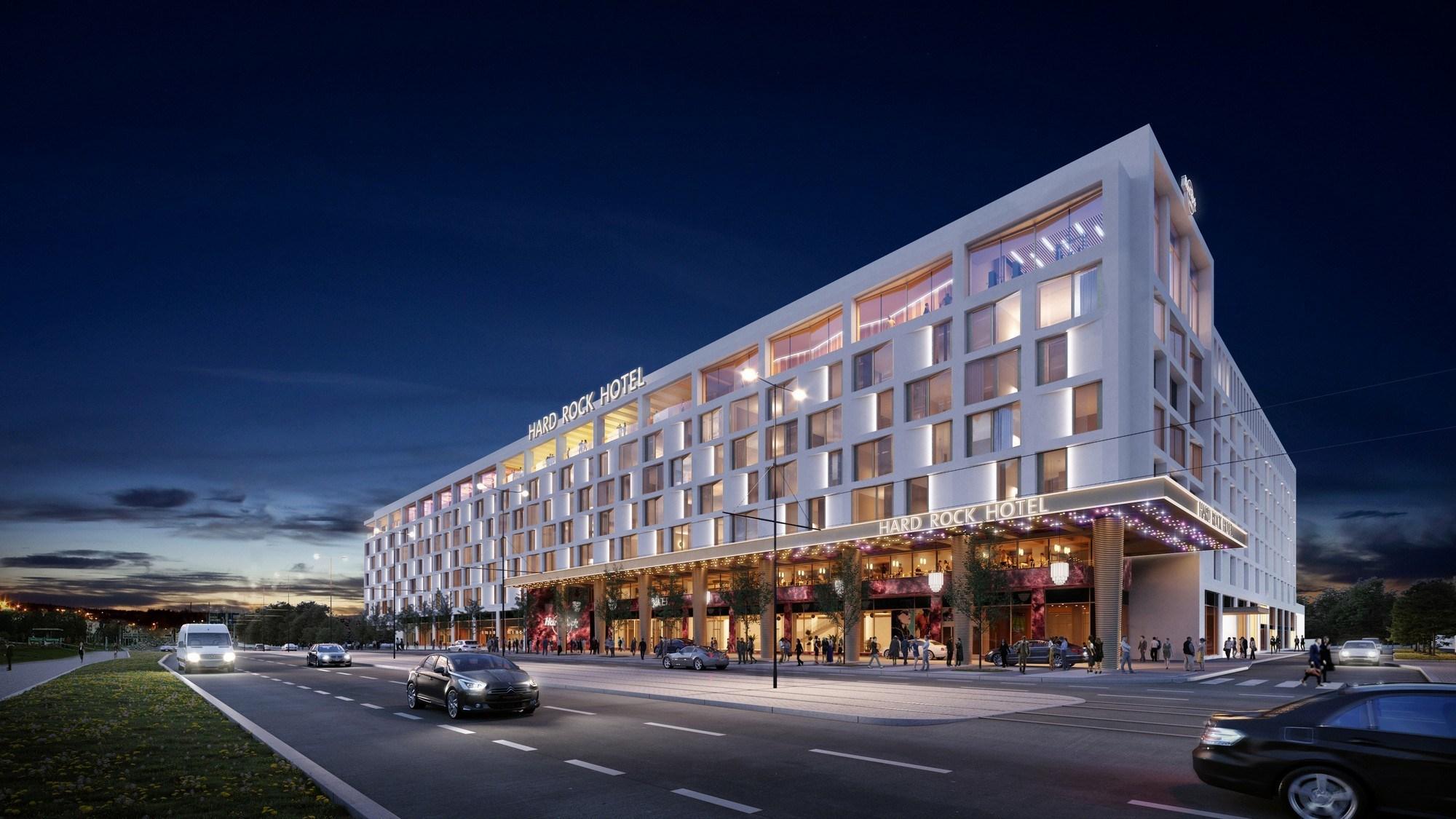 Cadeia Hard Rock International vai inaugurar um novo hotel em Praga