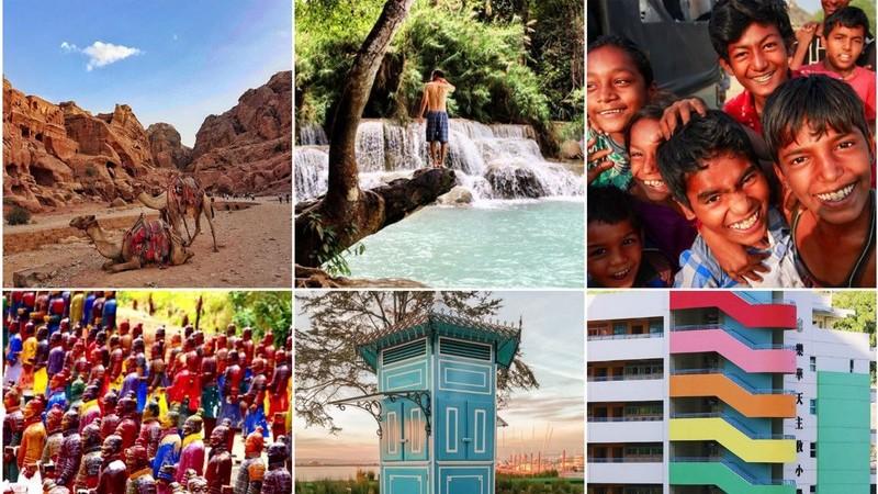 Viagens de Instagram: 9 fotos que o vão inspirar para próximas aventuras