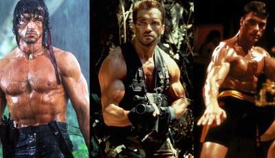 Durões no cinema: Lembra-se destes filmes dos maiores heróis de ação dos anos 80?
