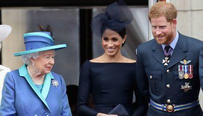 A 'piadinha' do príncipe Harry sobre a rainha Isabel II