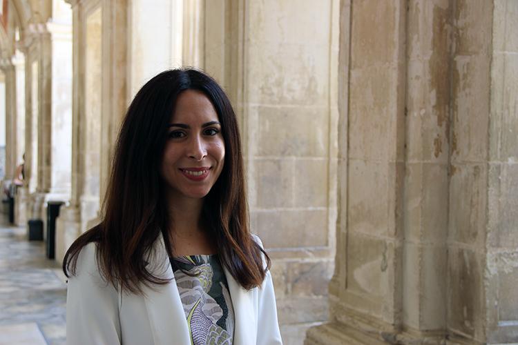 Cristiana Duarte, investigadora da FPCEUC