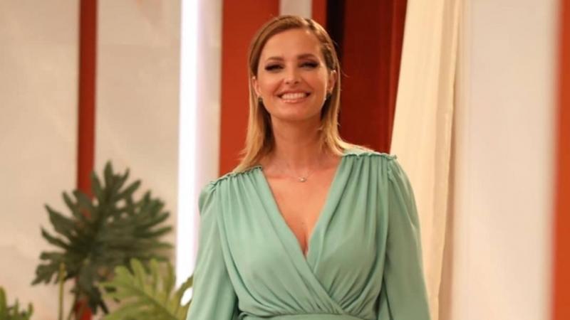 Quanto custa o vestido verde que Cristina Ferreira escolheu para começar a semana