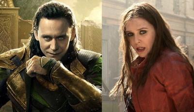Loki ou Feiticeira Escarlate em séries da Marvel? Vai acontecer e pode ser com mesmos atores do cinema