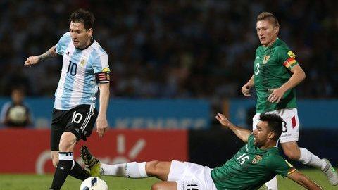 Copa América: Lesão de Messi causa apreensão na seleção argentina