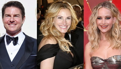 De Tom Cruise a Julia Roberts: Os melhores sorrisos do cinema