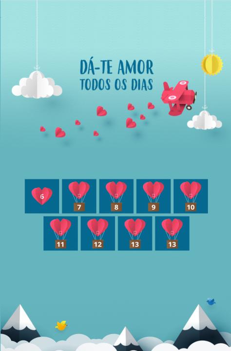 SAPO Voucher - Dia dos Namorados Calendário