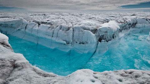Como ficaria a Terra se todo o gelo derretesse?