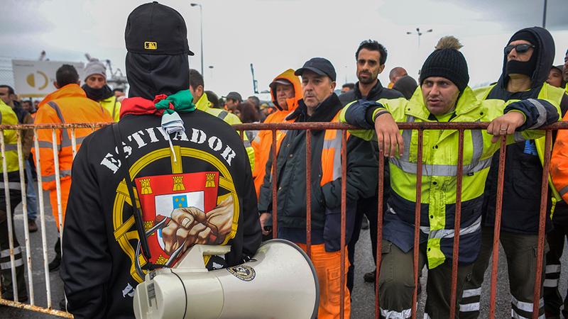Agentes de navegação sem otimismo com fim da greve no porto de Setúbal