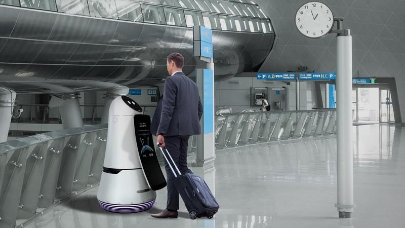 Se for à Coreia do Sul não se admire se for recebido por um robot no aeroporto