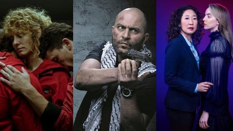 """Zapping do mês: de """"La Casa de Papel"""" a """"Killing Eve"""", que séries estreiam e regressam em abril?"""