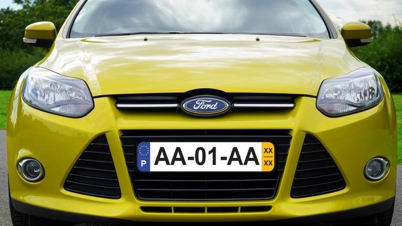 Novas matrículas dos carros aprovadas. Vão ser assim