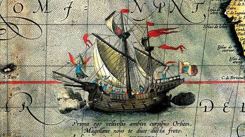 A primeira volta ao mundo: de Fernão Magalhães a Elcano