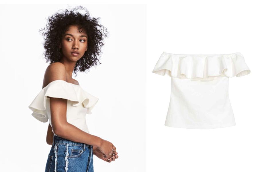 Como disfarçar o peito pequeno através da roupa