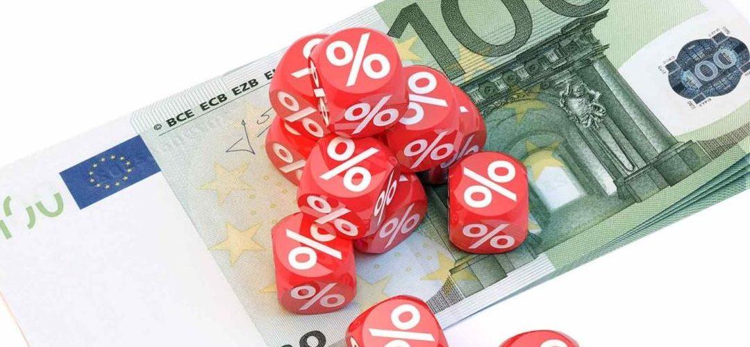 Taxas Euribor caem a 3 meses, sobem a 12 meses e mantêm-se a 6 meses