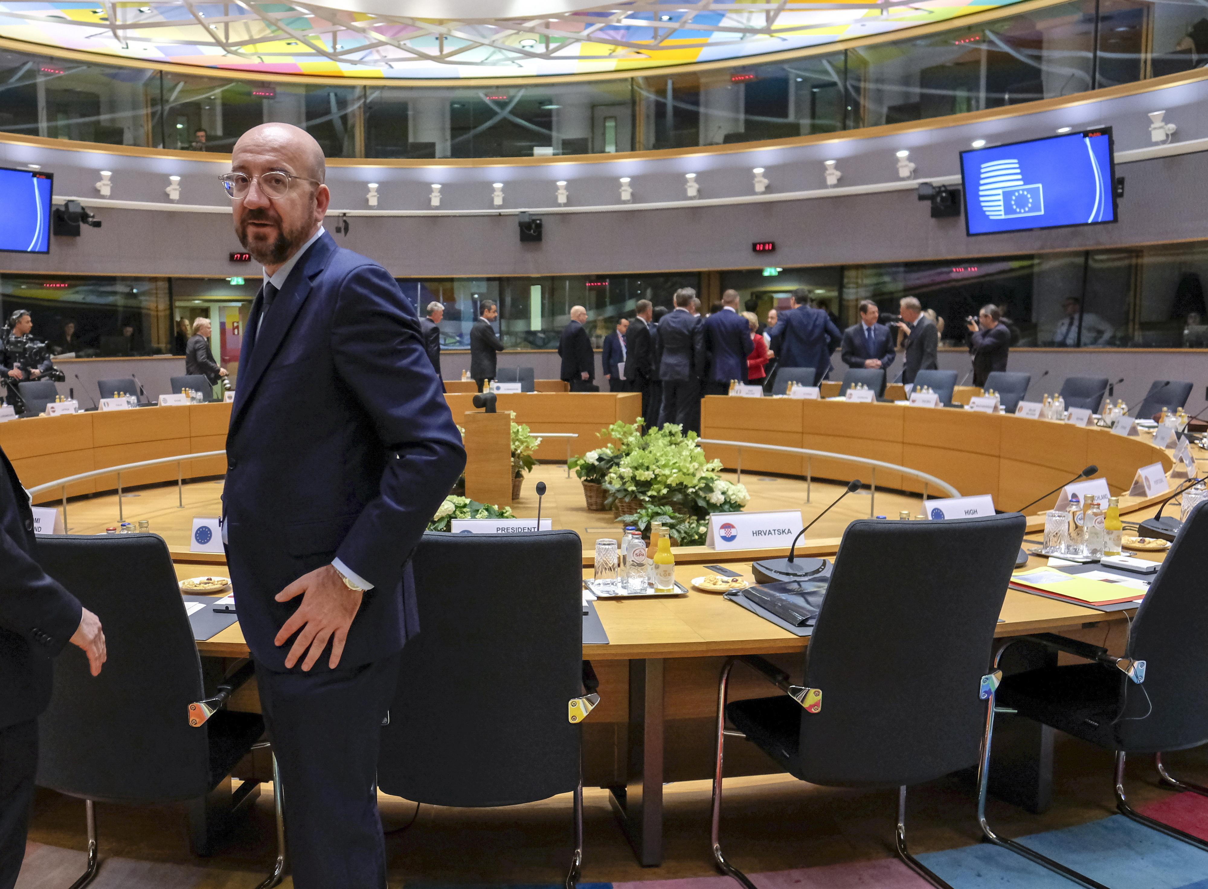 Infelizmente não chegámos a acordo e precisamos de mais tempo, diz Charles Michel sobre o orçamento plurianual