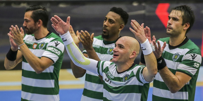 Sporting ganha vantagem no  play-off  da Liga dos Campeões de andebol 7a4a12c1a83a4