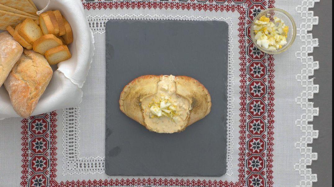 Casca festiva de sapateira