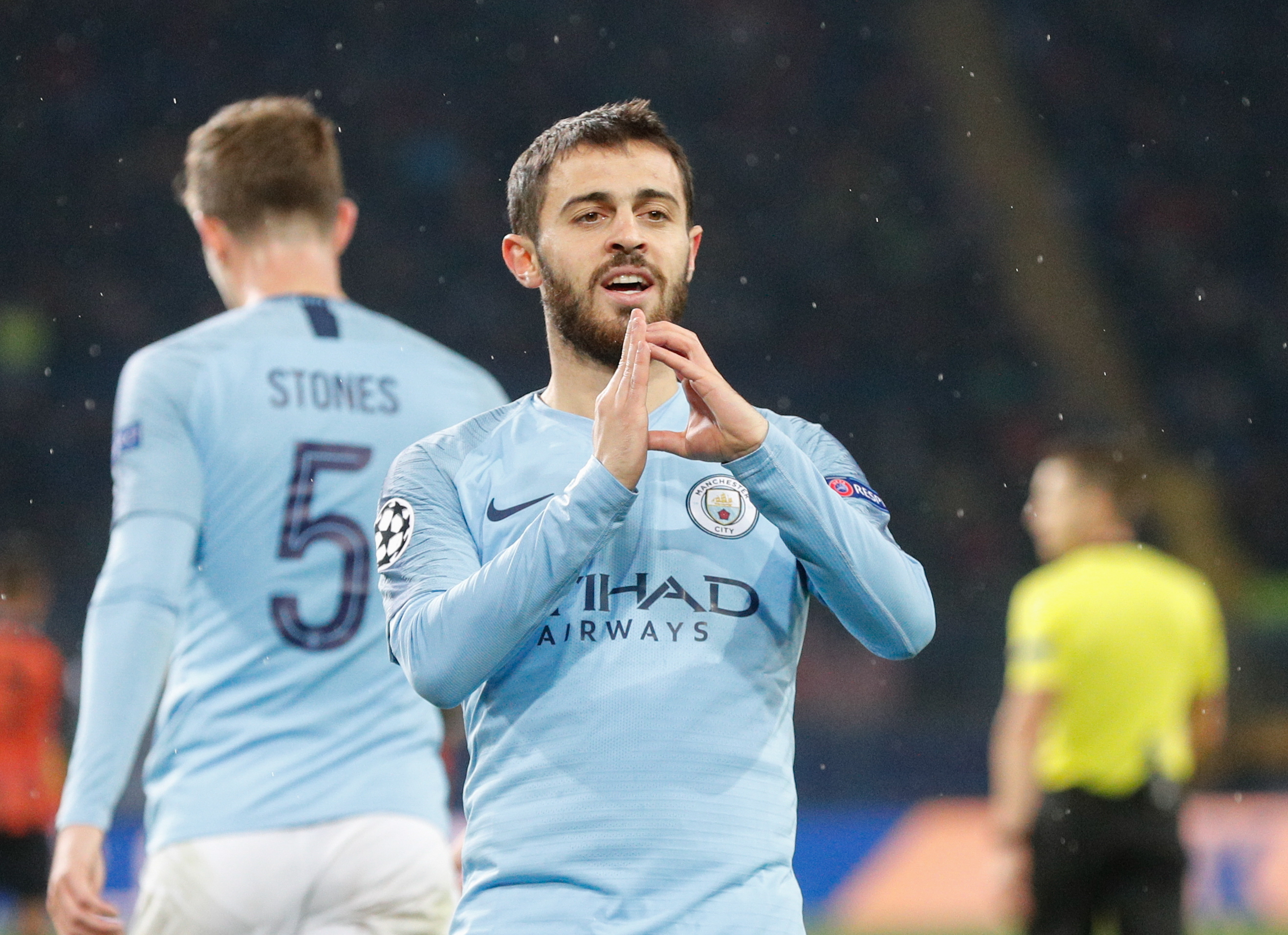 Bernardo Silva no '11' ideal da Premier League