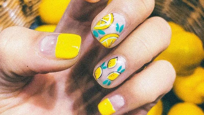 É muita fruta: esta manicura de Gigi Hadid inspirou uma nova tendência de unhas frutadas