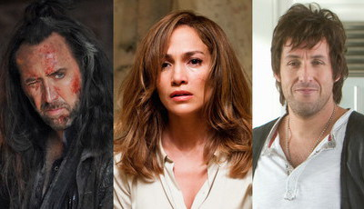Cuidado com eles: Estes atores escolhem (quase) sempre maus filmes