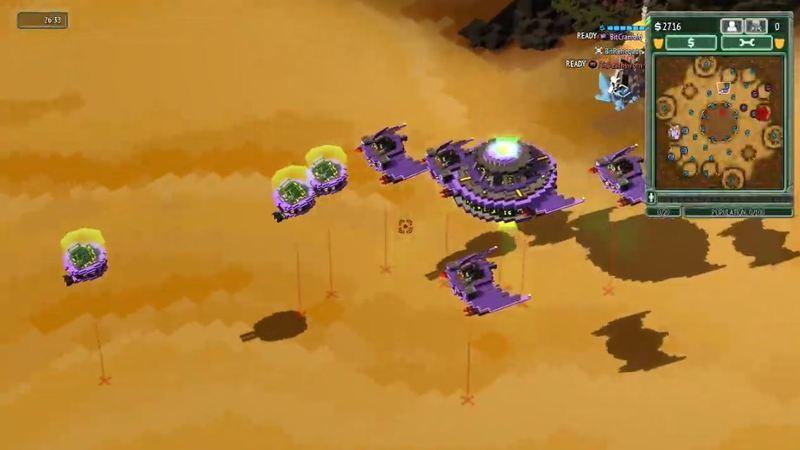 8-Bit Invaders, um RTS à antiga