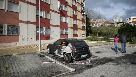 Dono de carro ardido em Odivelas relaciona incidente com violência em Setúbal